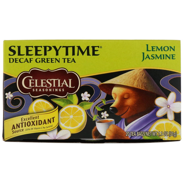 Celestial Seasonings Sleepytime Decaf Lemon Jasmine