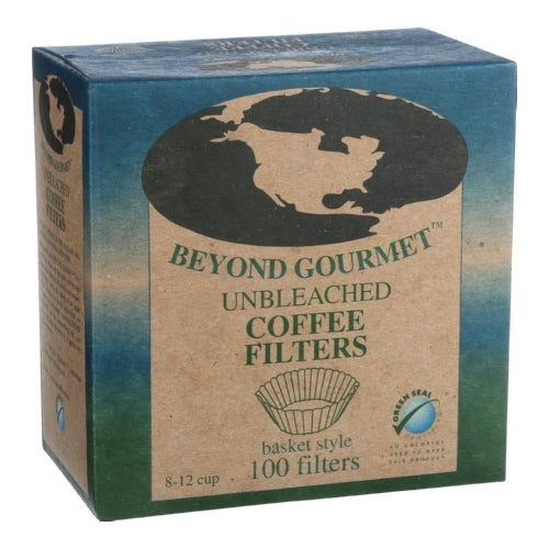 Unbleached Basket Style Coffee Filters