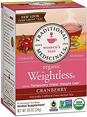 Traditional Medicinals Weightless with Cranberry Tea