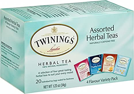 Twinings Assorted Herbal Sampler Tea