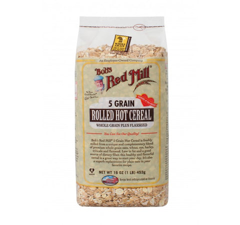 Bobs 5 Grain Rolled Hot Cereal