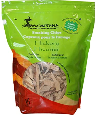 Montana Grill Hickory Wood Chips- 220 cubic inches