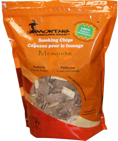 Montana Grill Mesquite Wood Chips- 220 cubic inches