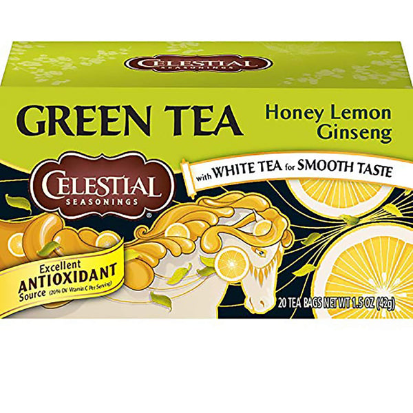 Celestial Seasonings Honey Lemon Ginseng Green