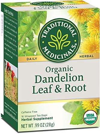 Traditional Medicinal Dandelion Leaf and Root Tea