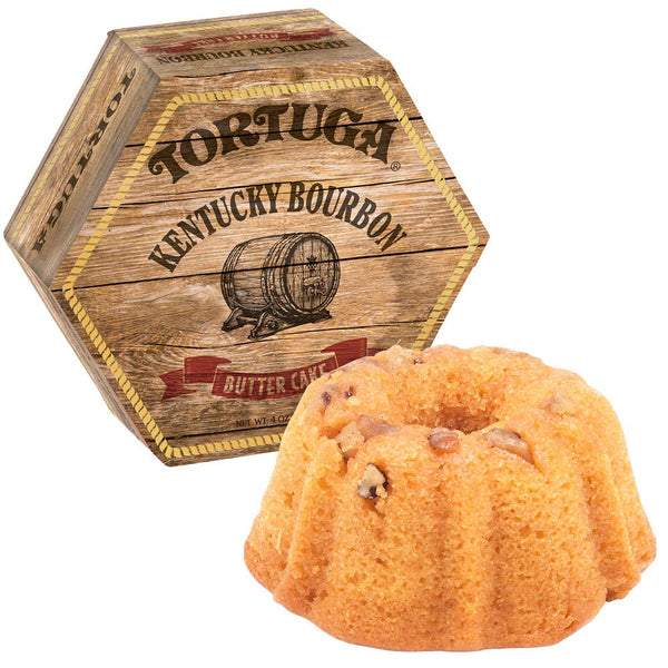32oz Tortuga Kentucky Bourbon Butter Cake