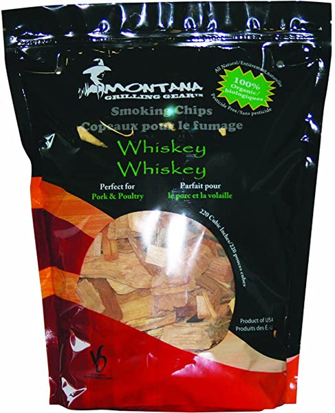 Montana Grill Whiskey Wood Chips- 220 cubic inches