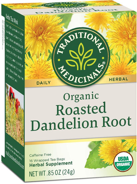 Traditional Medicinal Roasted Dandelion Root Tea