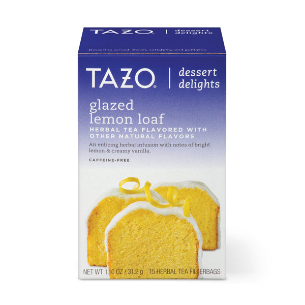 Tazo Glazed Lemon Loaf Tea