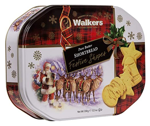 Walkers Festive Shapes Tin