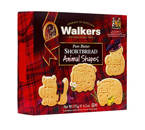 Walkers Animal Shapes Shortbread