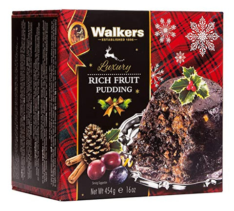 Walkers Rich Fruit Pudding