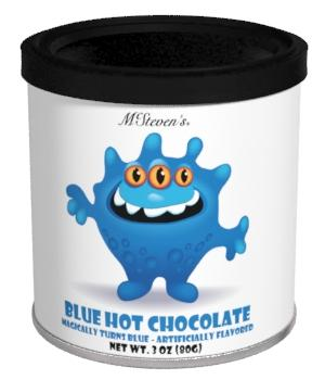 Blue Monster Hot Chocolate