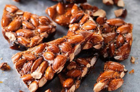 Almond Glaze Brittle