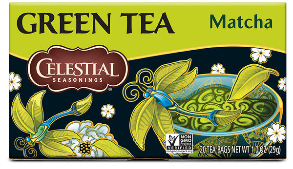 Celestial Seasonings Green tea With Matcha