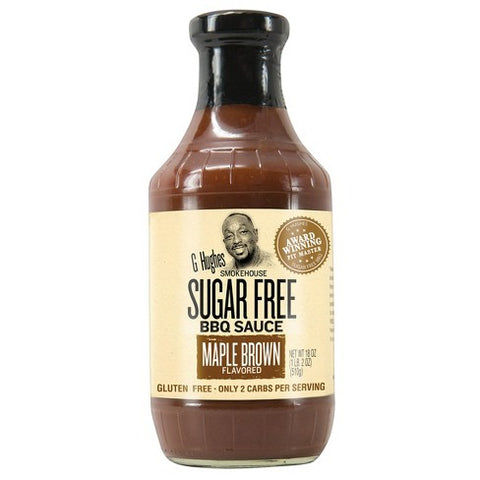 G Huges Sugar Free Maple Brown BBQ Sauce