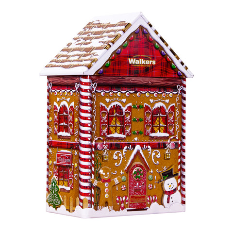 Walkers Gingerbread House Tin-Mini Gingerbread Cookies