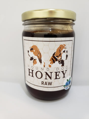 1 Pound Raw Blueberry Honey