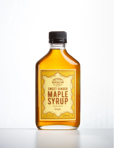 Sweet Ginger Maple Syrup
