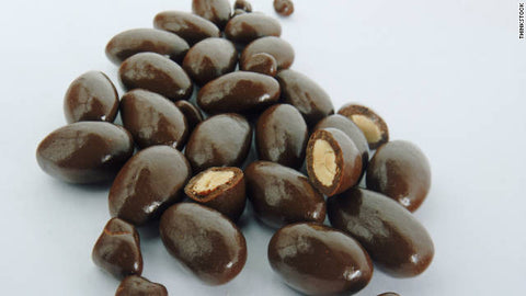 72% Bittersweet Chocolate Almonds
