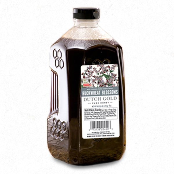 Dutch Gold Buckwheat Honey- 5 Pound