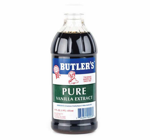 BUTLER'S PURE VANILLA EXTRACT 16OZ
