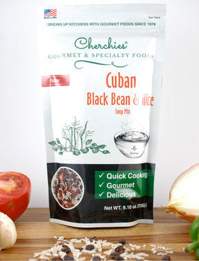 Cherchies Cuban Black Bean And Rice Soup Mix