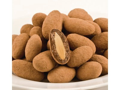 Bittersweet Chocolate Cocoa Dusted Almonds