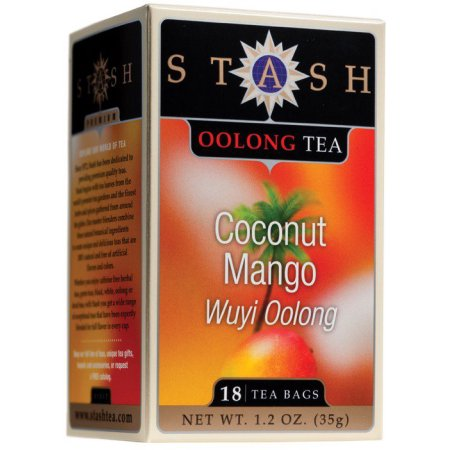 Coconut Mango Wuji Oolong