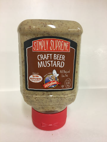 Simply Supreme Craft Beer Mustard