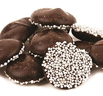 Asher's Dark Chocolate Dime Size Nonpareils
