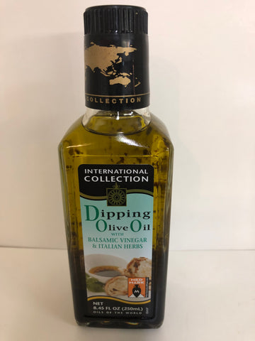 International Collection Dipping Olive Oil with Balsamic Vinegar & Italian Herbs