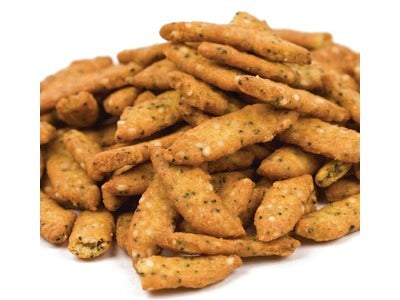BE THE FIRST ON YOUR BLOCK! TRY NEW EVERYTHING SESAME STICKS! INTRODUCTORY PRICE $3.50 A LB.