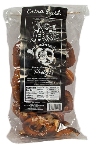 Uncle Jerry's Extra Dark Pretzels