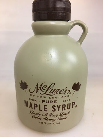 McLure's Pure Maple Syrup - Very Dark
