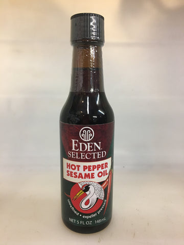 Eden Hot Pepper Sesame Oil