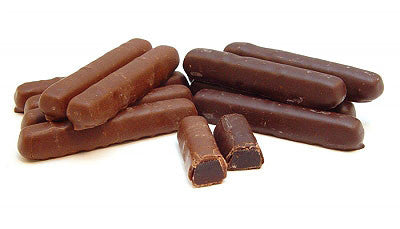 Chocolate Covered Orange Jell Sticks