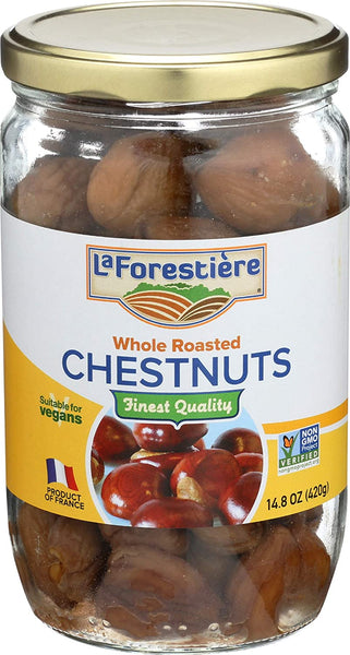 La Forestiere Whole Roasted Chestnuts