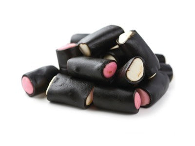 Licorice Cream Rocks