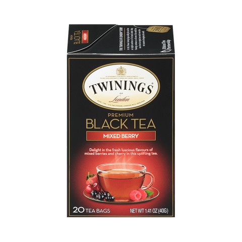 Black Tea with Mixed Berry Tea