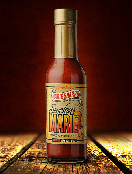 Marie Sharp's Smokin Marie Hot Sauce