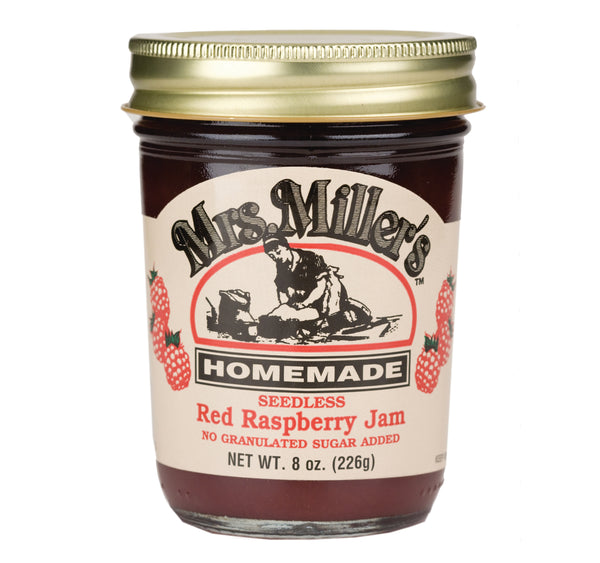 Mrs. Miller's Red Raspberry Jam No Sugar Added
