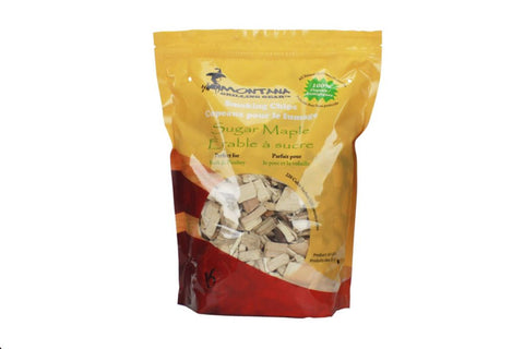 Montana Grill Sugar Maple Wood Chips- 220 cubic Inch