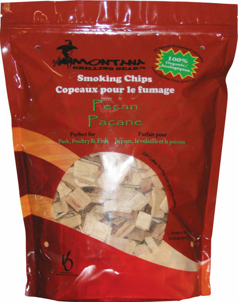 Montana Grill Pecan Wood Chips- 220 cubic inches