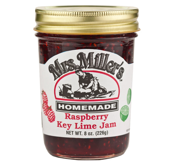 Mrs. Miller's Raspberry Key Lime Jam