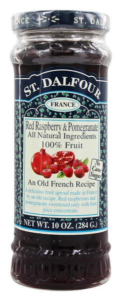St. Dalfour Red Raspberry & Pomegranate Fruit Spread