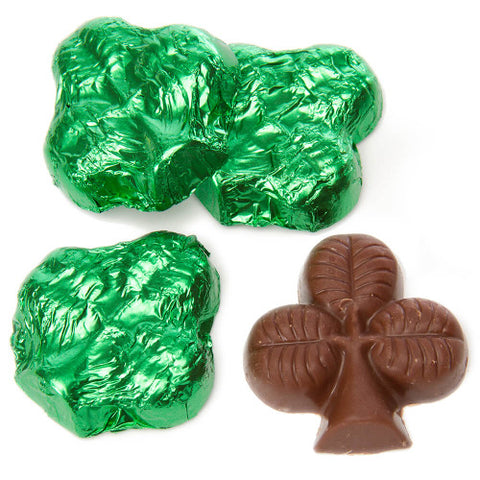 Chocolate Foiled Shamrock