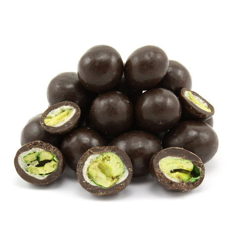 Dark Chocolate Covered Wasabi Peas