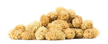 White  Mulberries 1/4 pound