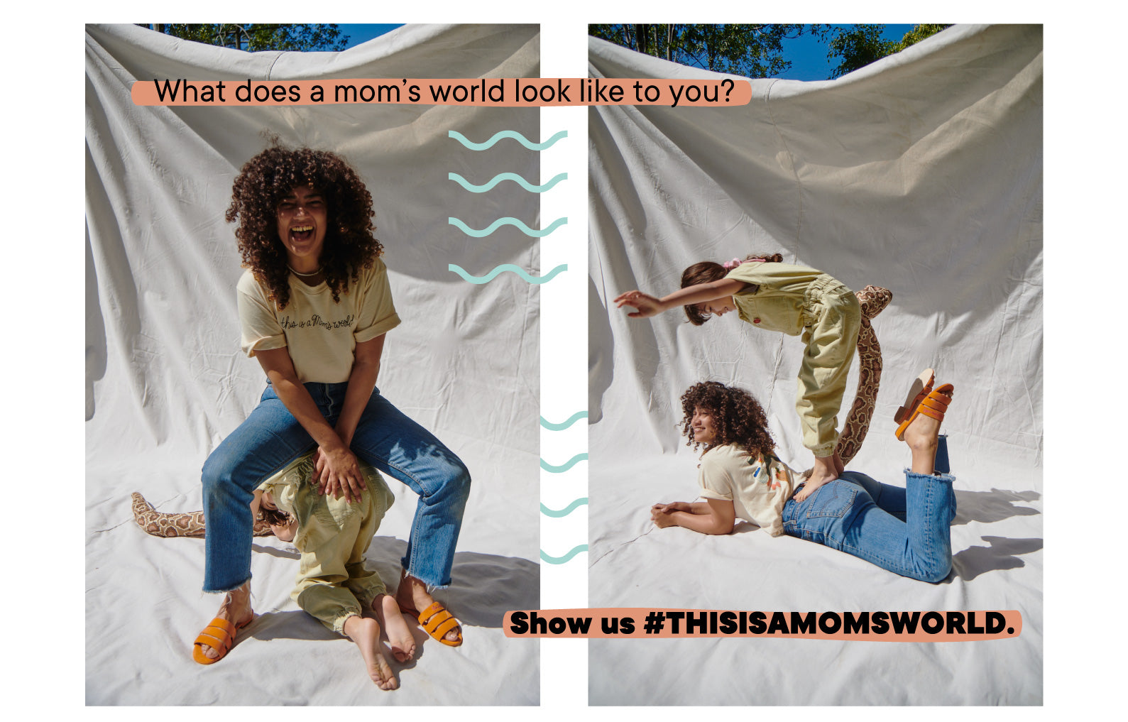 What does a mom's world look like to you? Show us #THISISAMOMSWORLD.